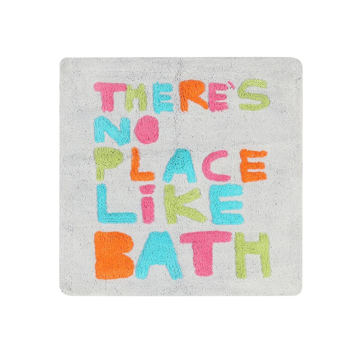 Πατάκι Μπάνιου (60x90) Nef-Nef Bath No Place Like Bath