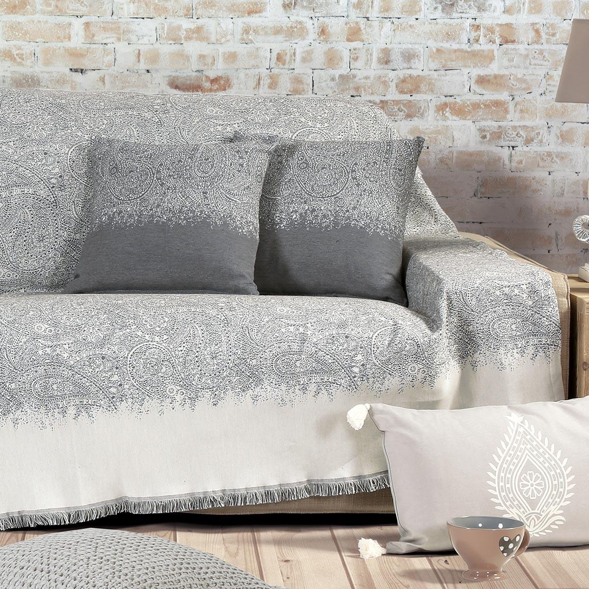 Ριχτάρι Τριθέσιου (170x300) Nef-Nef Maraces Grey