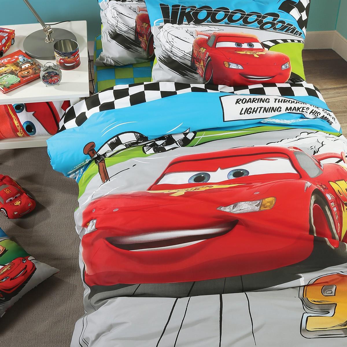 Σεντόνια Μονά (Σετ) Nef-Nef Disney Cars Comic