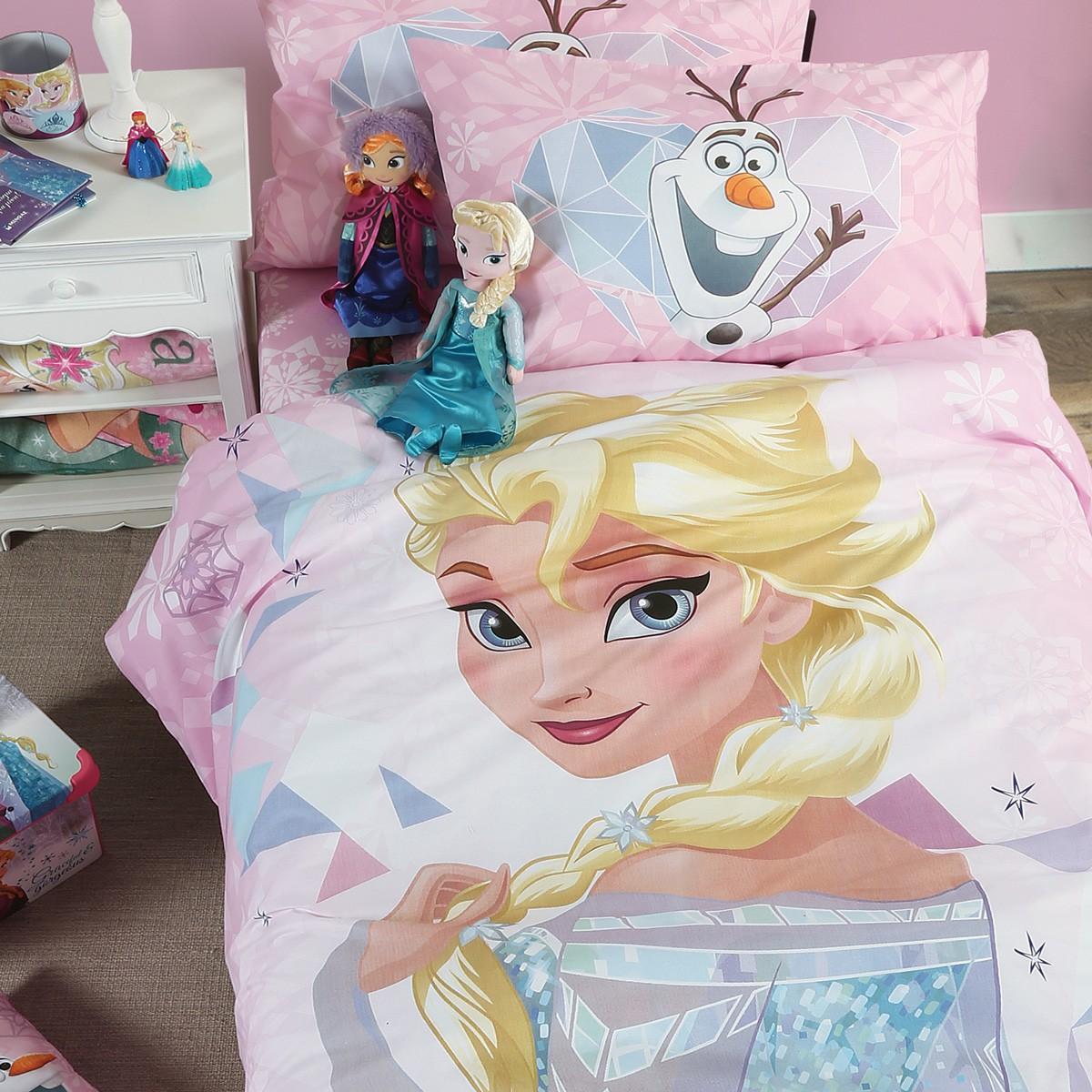 Σεντόνια Μονά (Σετ) Nef-Nef Disney Frozen Kaleidoscope