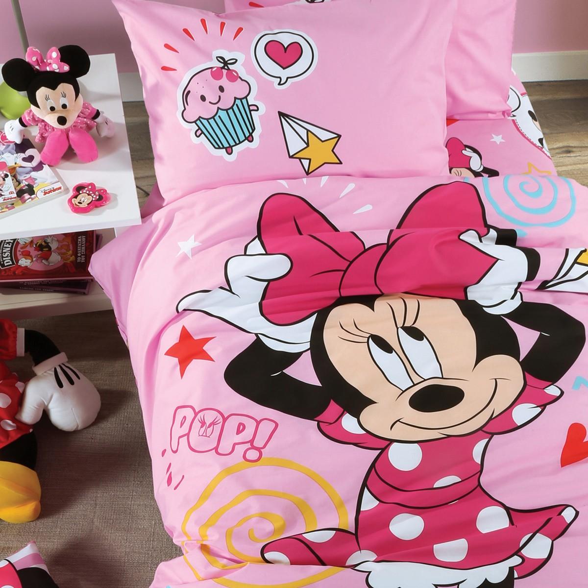 Σεντόνια Μονά (Σετ) Nef-Nef Disney Minnie Style