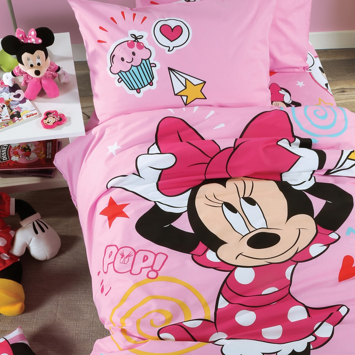 Παπλωματοθήκη Μονή (Σετ) Nef-Nef Disney Minnie Style