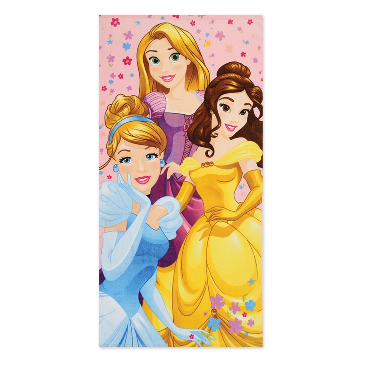 Παιδική Πετσέτα Θαλάσσης Nef-Nef Disney Princess Diamonds home   θαλάσσης   πετσέτες θαλάσσης παιδικές