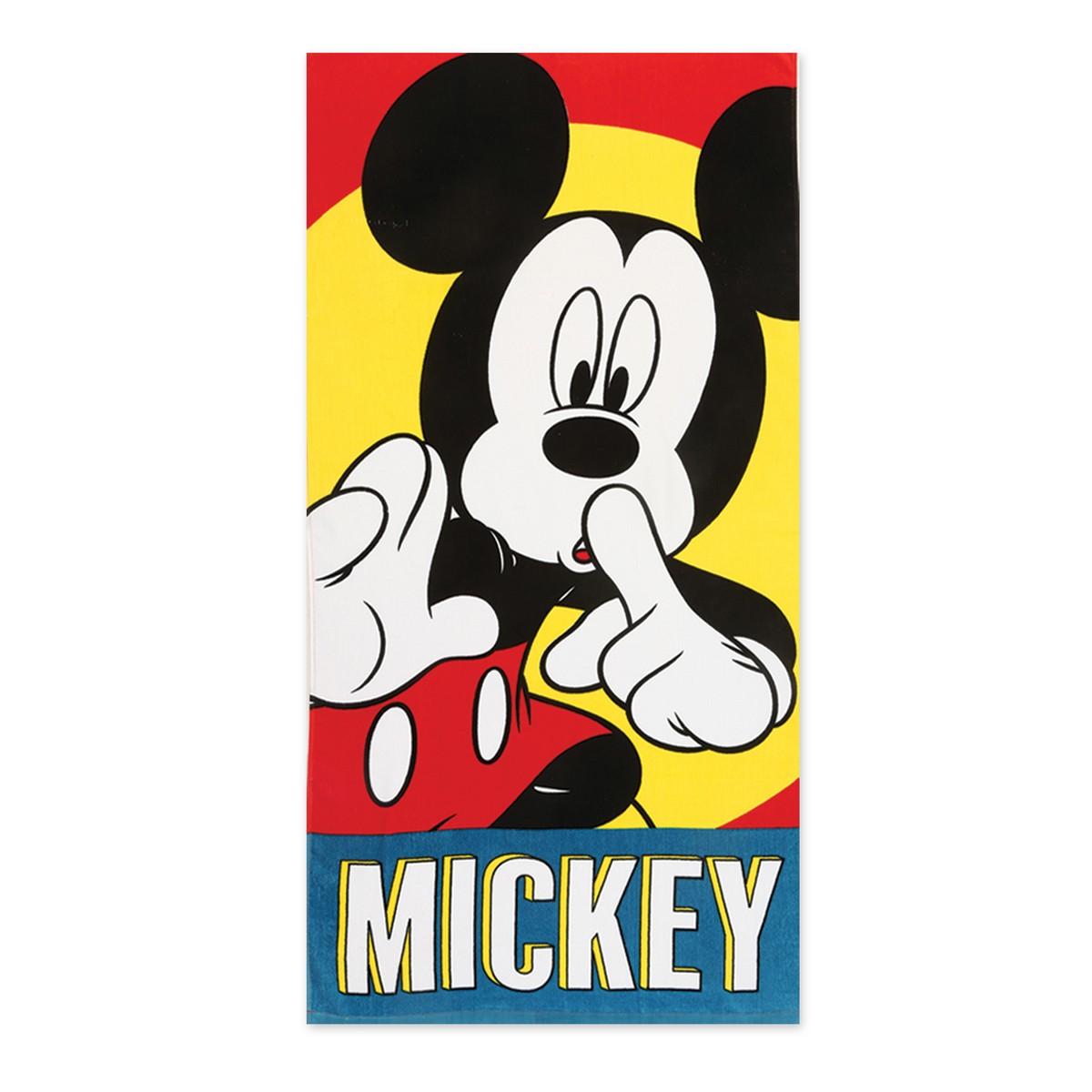 Παιδική Πετσέτα Θαλάσσης Nef-Nef Disney Mickey Shush home   θαλάσσης   πετσέτες θαλάσσης παιδικές