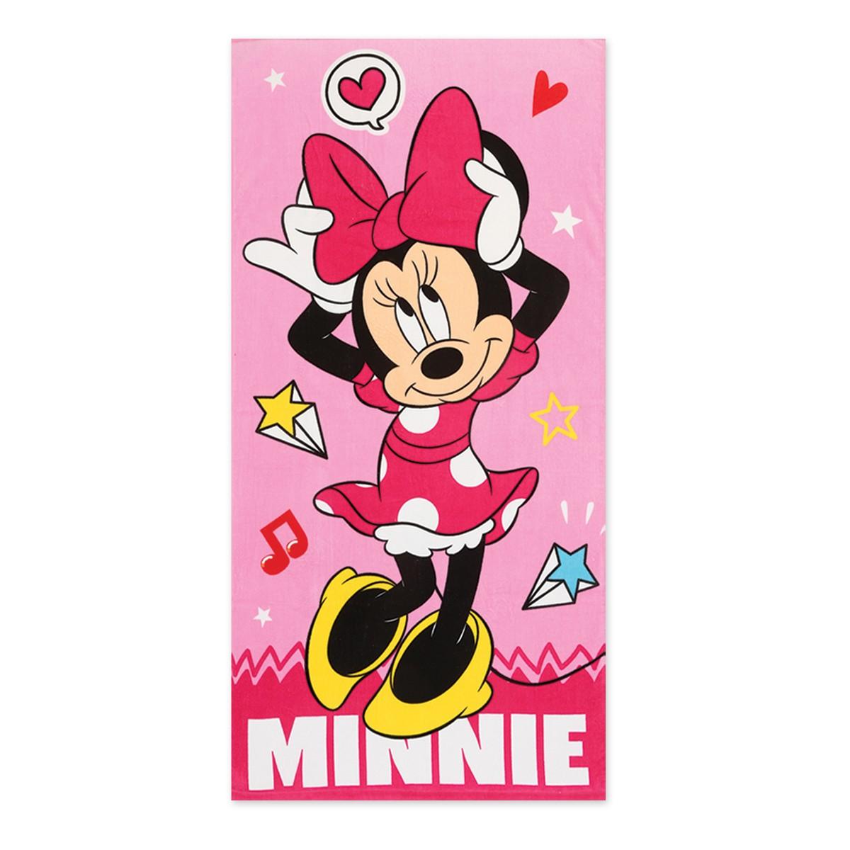 Παιδική Πετσέτα Θαλάσσης Nef-Nef Disney Minnie Style