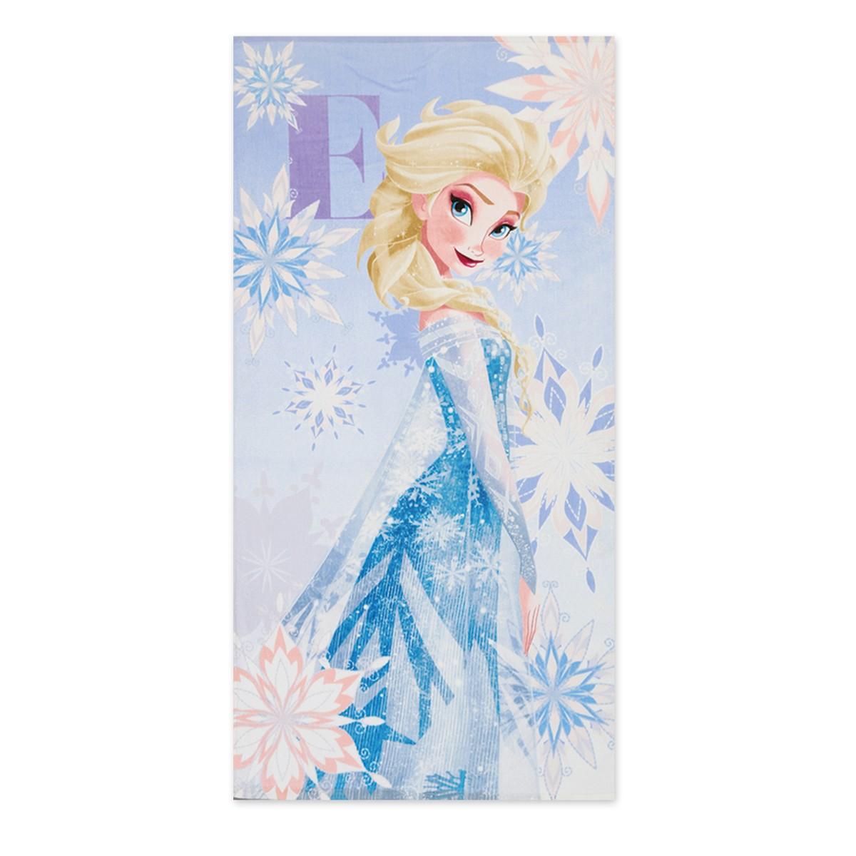 Παιδική Πετσέτα Θαλάσσης Nef-Nef Disney Frozen Iridescent