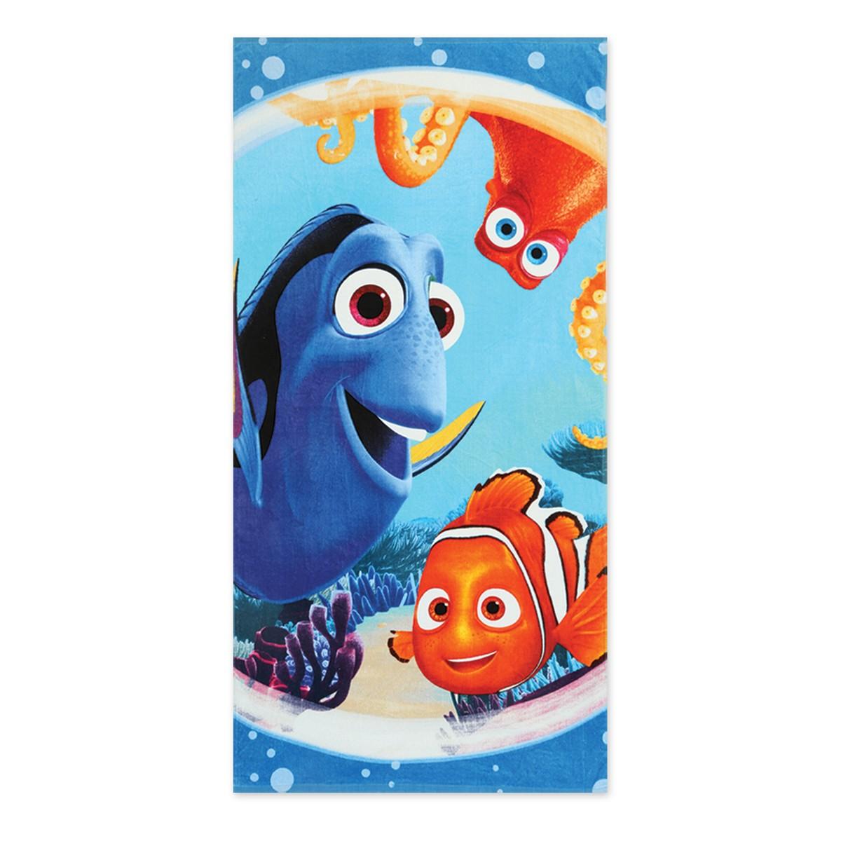 Παιδική Πετσέτα Θαλάσσης Nef-Nef Disney Finding Nemo Circles