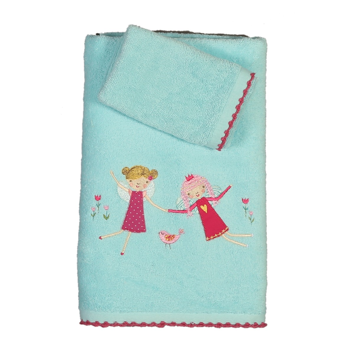 Παιδικές Πετσέτες (Σετ 2τμχ) Nef-Nef Junior Fairies In The Garde
