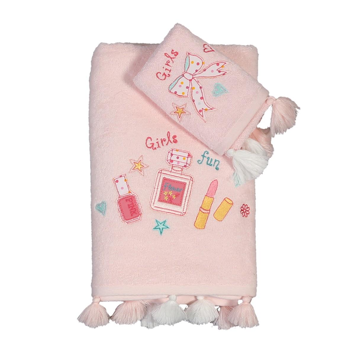 Παιδικές Πετσέτες (Σετ 2τμχ) Nef-Nef Junior Girls Want Have Fun
