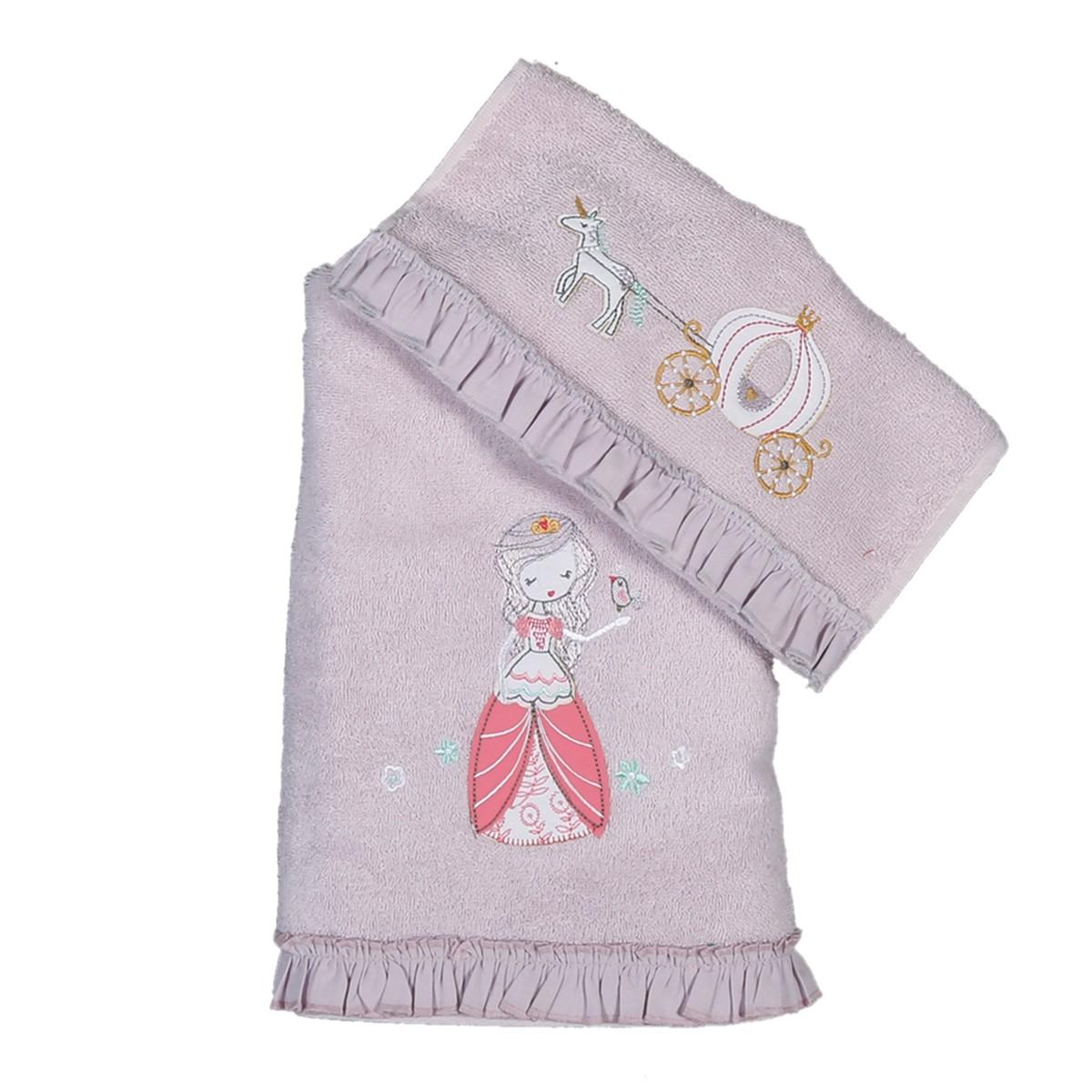 Παιδικές Πετσέτες (Σετ 2τμχ) Nef-Nef Junior Charm Princess
