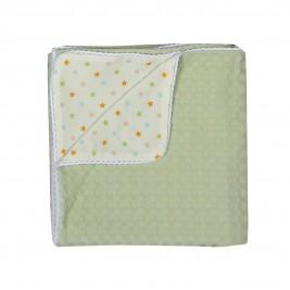 Κουβέρτα Πικέ Κούνιας - Jersey Nef-Nef Daily Green