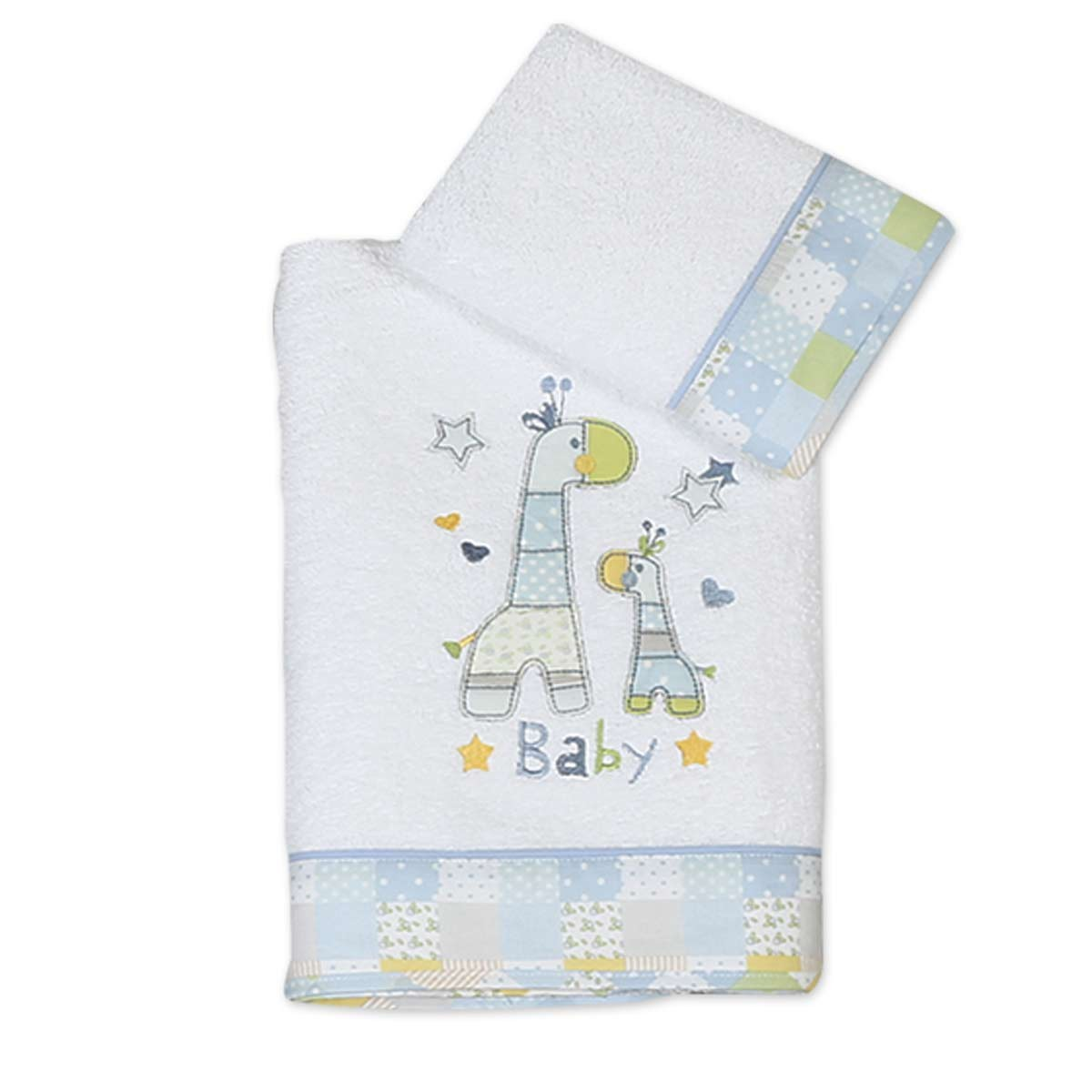 Βρεφικές Πετσέτες (Σετ 2τμχ) Nef-Nef Baby Baby Girafe