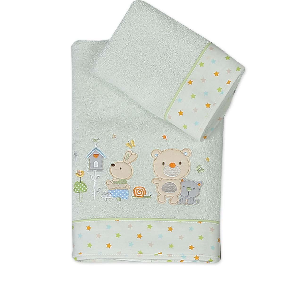 Βρεφικές Πετσέτες (Σετ 2τμχ) Nef-Nef Baby Cute Buddies
