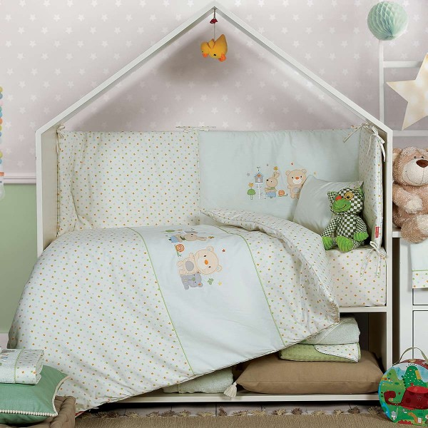 Κουβερλί Κούνιας Nef-Nef Baby Cute Buddies