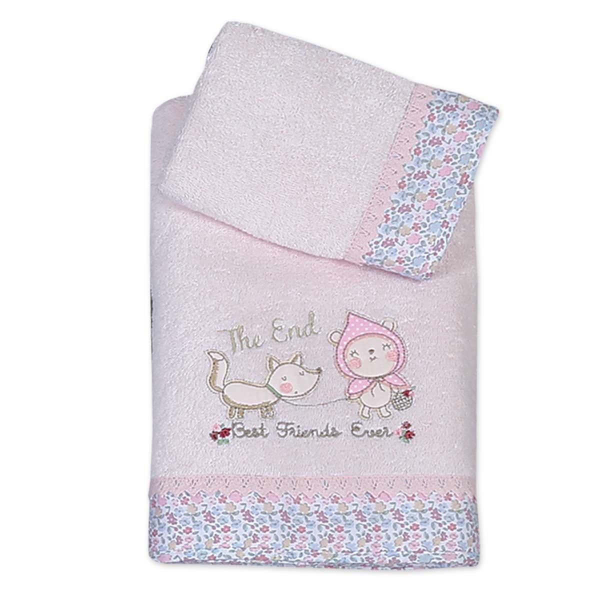 Βρεφικές Πετσέτες (Σετ 2τμχ) Nef-Nef Baby Redhood