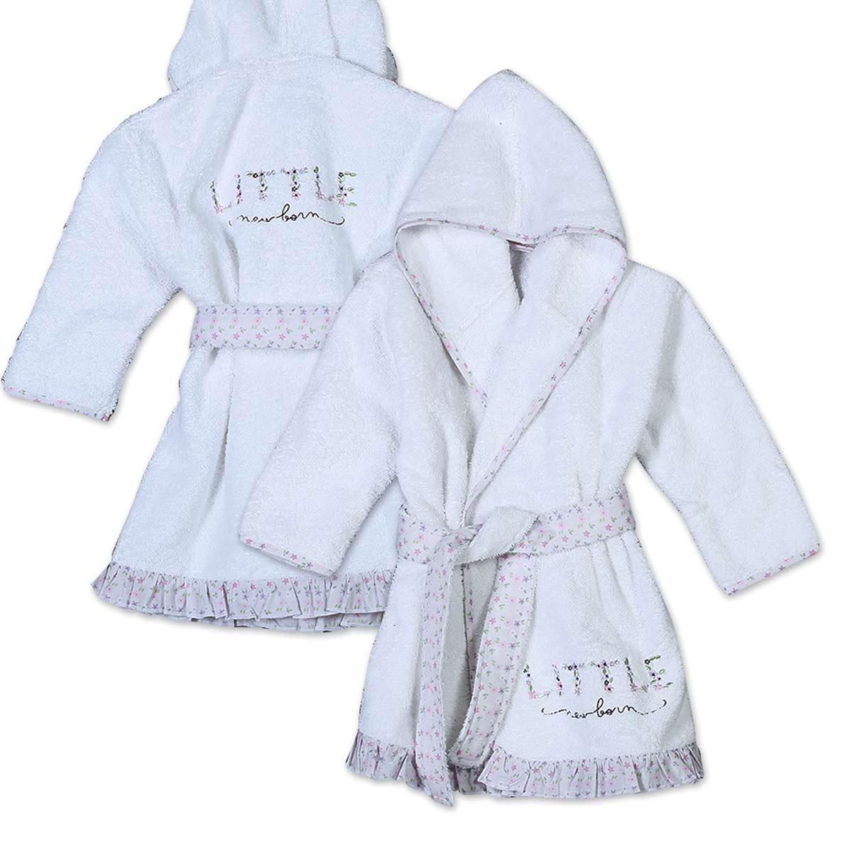 Βρεφικό Μπουρνούζι Nef-Nef Baby Little New Born Νο2 Νο2