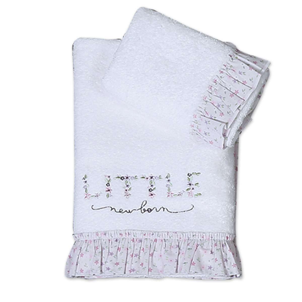 Βρεφικές Πετσέτες (Σετ 2τμχ) Nef-Nef Baby Little New Born