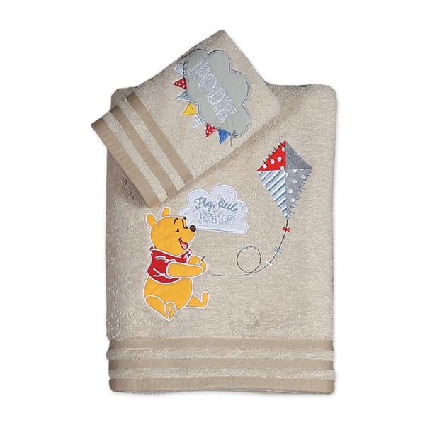 Βρεφικές Πετσέτες (Σετ 2τμχ) Nef-Nef Disney Winnie Fly Kite