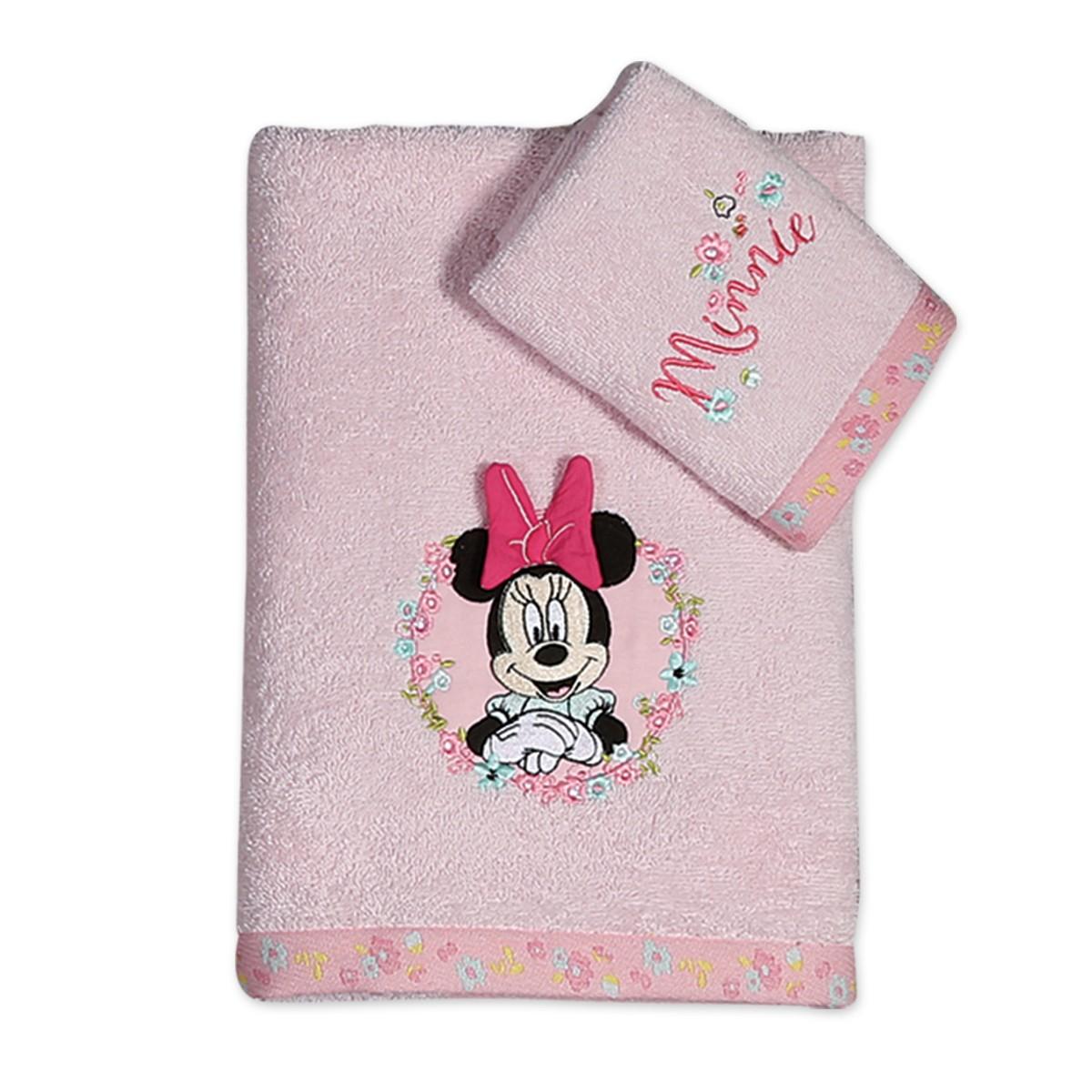 Βρεφικές Πετσέτες (Σετ 2τμχ) Nef-Nef Disney Minnie Little Flower