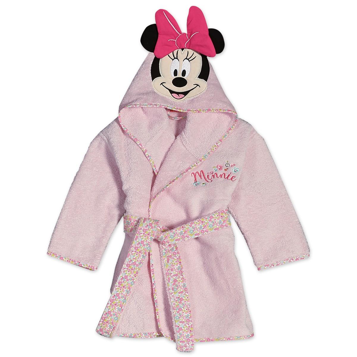 Βρεφικό Μπουρνούζι Nef-Nef Disney Minnie Little Flower Νο2 Νο2