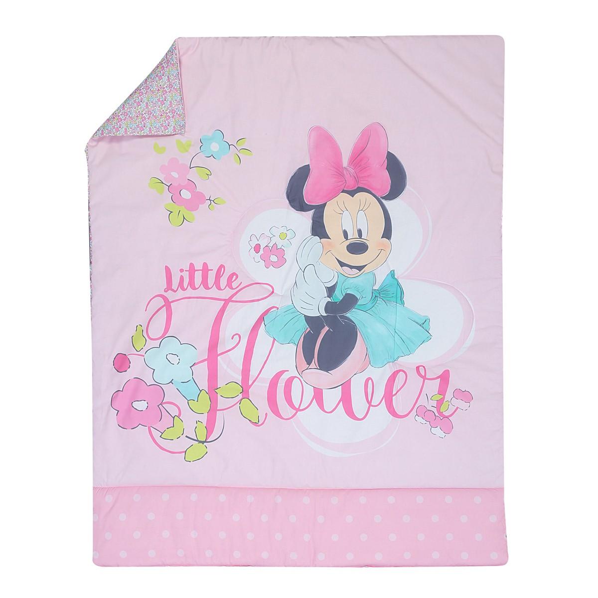Κουβερλί Κούνιας Nef-Nef Disney Minnie Little Flower