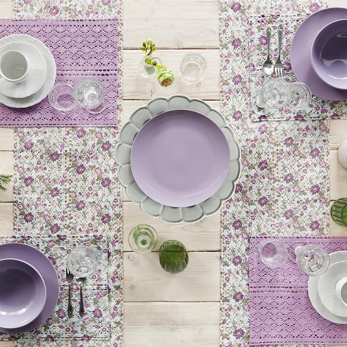 Τραβέρσα Gofis Home Orchard Purple 020/20