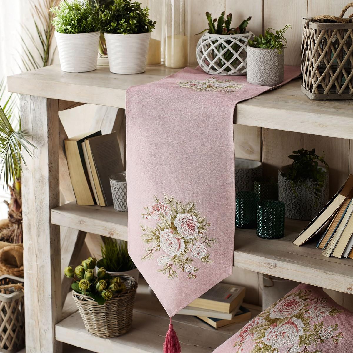 Τραβέρσα Gofis Home Tarantella Pink 354/17