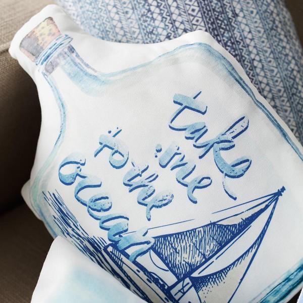 Διακοσμητικό Μαξιλάρι Gofis Home Botella 014
