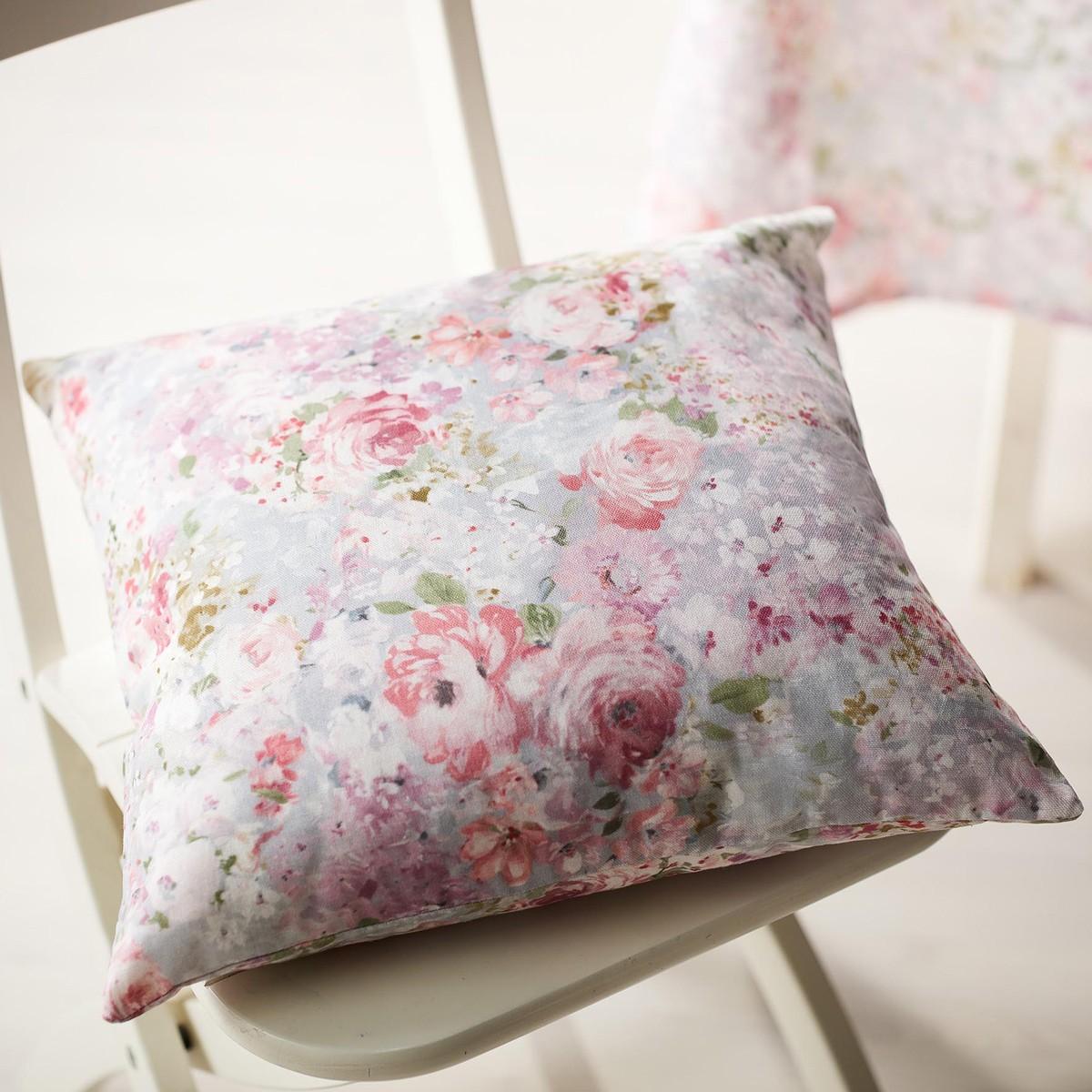 Διακοσμητική Μαξιλαροθήκη Gofis Home Delphine Pink 221/17