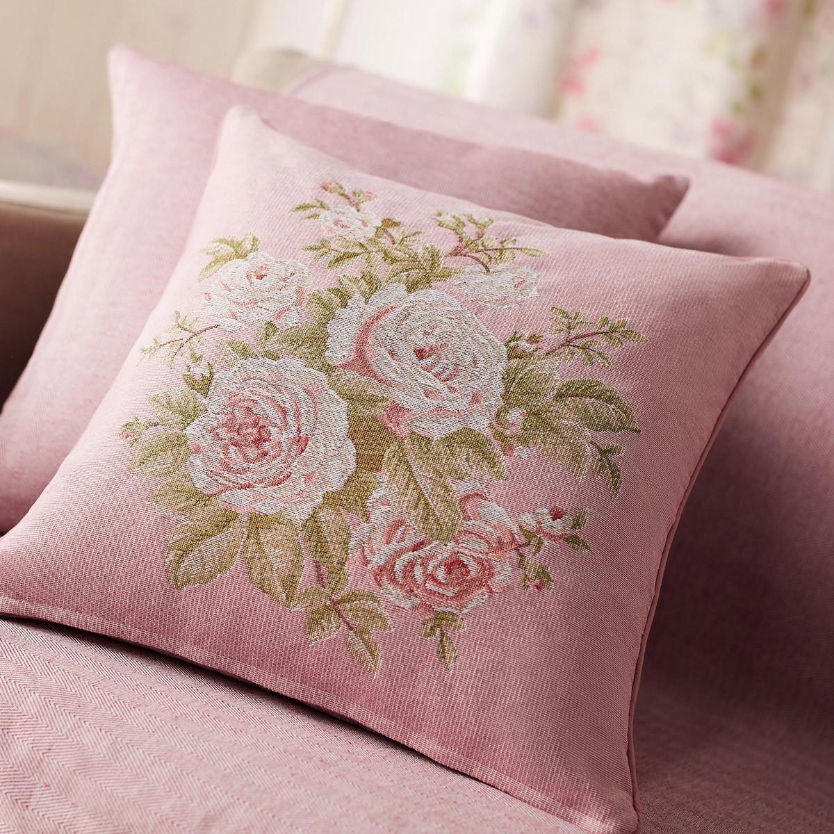 Διακοσμητική Μαξιλαροθήκη Gofis Home Tarantella Pink 354/17
