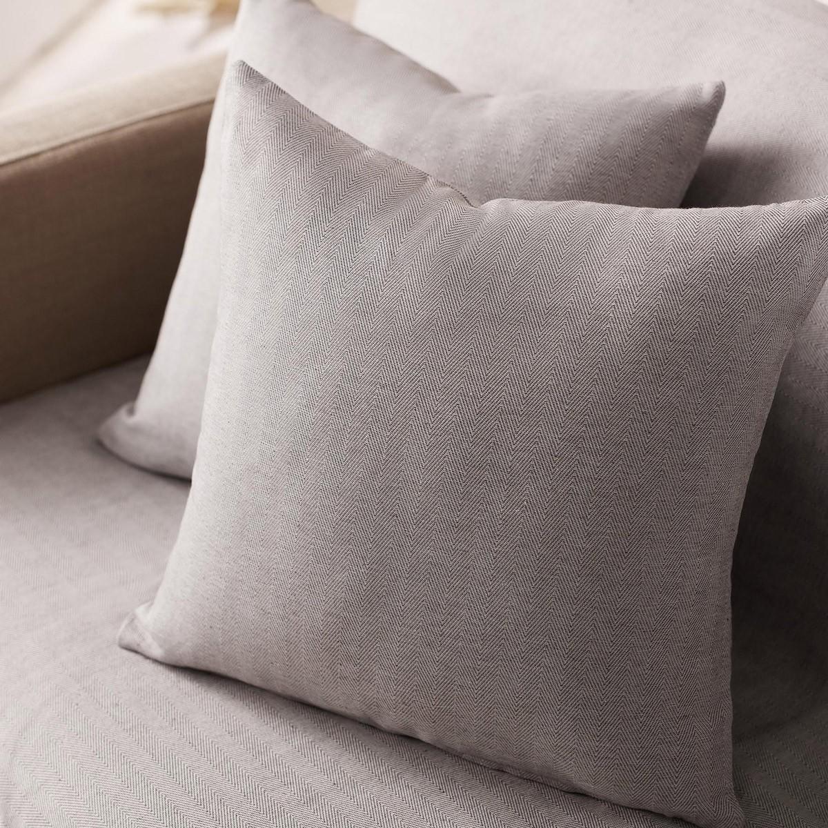 Διακοσμητική Μαξιλαροθήκη (50x50) Gofis Home Herring Grey 732/15
