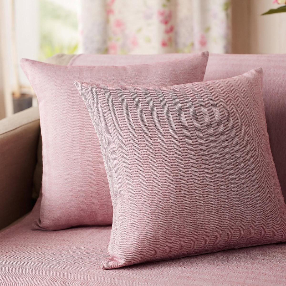 Διακοσμητική Μαξιλαροθήκη (50×50) Gofis Home Rene Pink 732/17