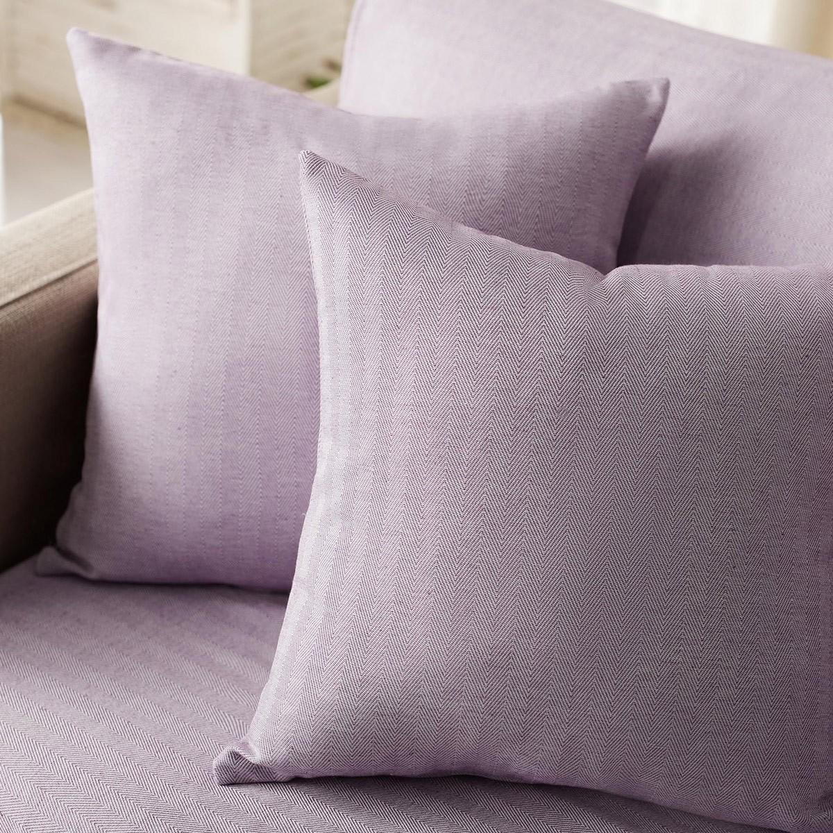 Διακοσμητική Μαξιλαροθήκη (50×50) Gofis Home Rene Purple 732/19