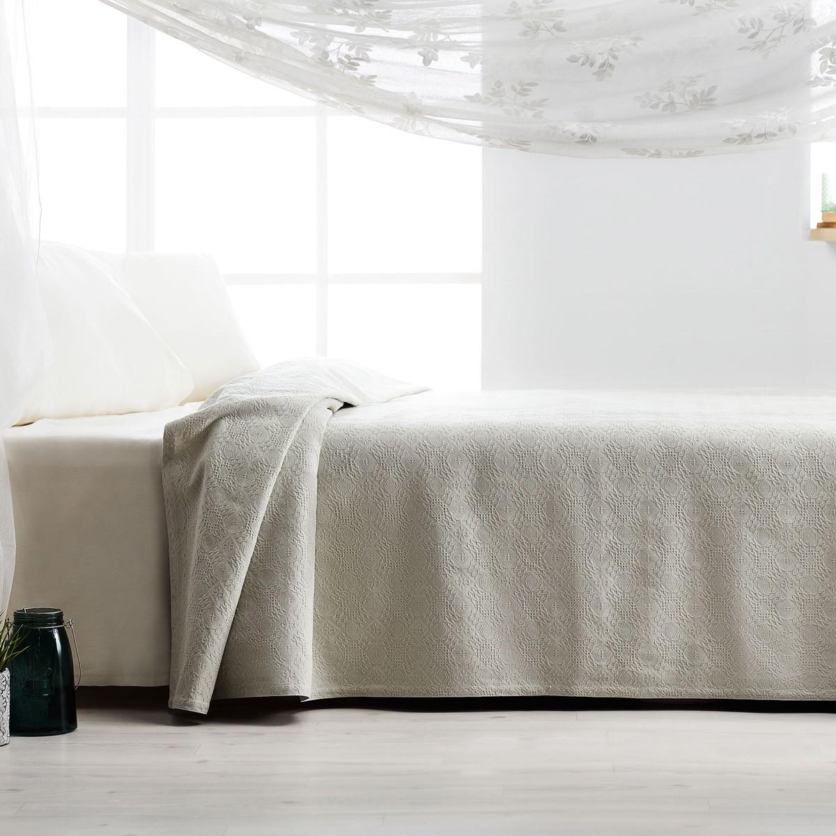 Κουβερτόριο Υπέρδιπλο Gofis Home Tenzin Mint 284/18 home   κρεβατοκάμαρα   κουβέρτες   κουβέρτες καλοκαιρινές υπέρδιπλες