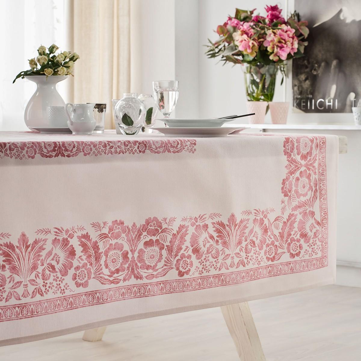Τραπεζομάντηλο (140×220) Gofis Home Verano Pink 360/17