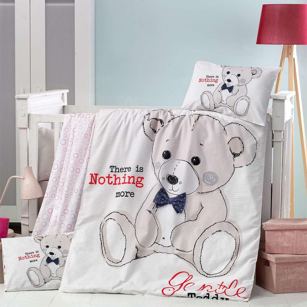 Σεντόνια Κούνιας (Σετ) Ravelia Baby Teddy