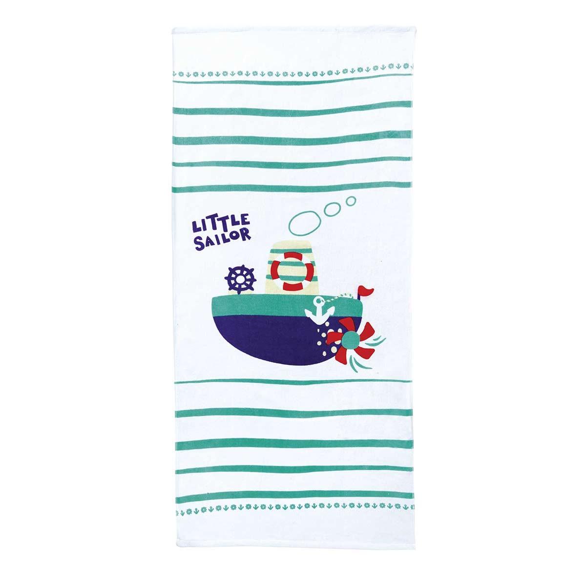 Παιδική Πετσέτα Θαλάσσης Nima Little Sailor