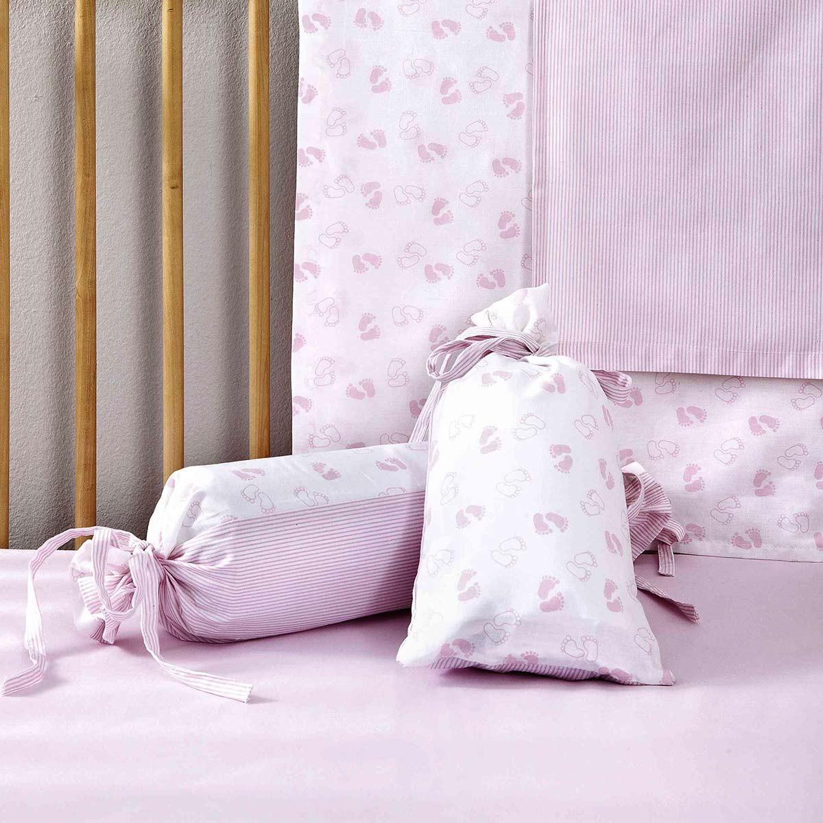 Σεντόνια Λίκνου (Σετ) Nima Tootsies Pink