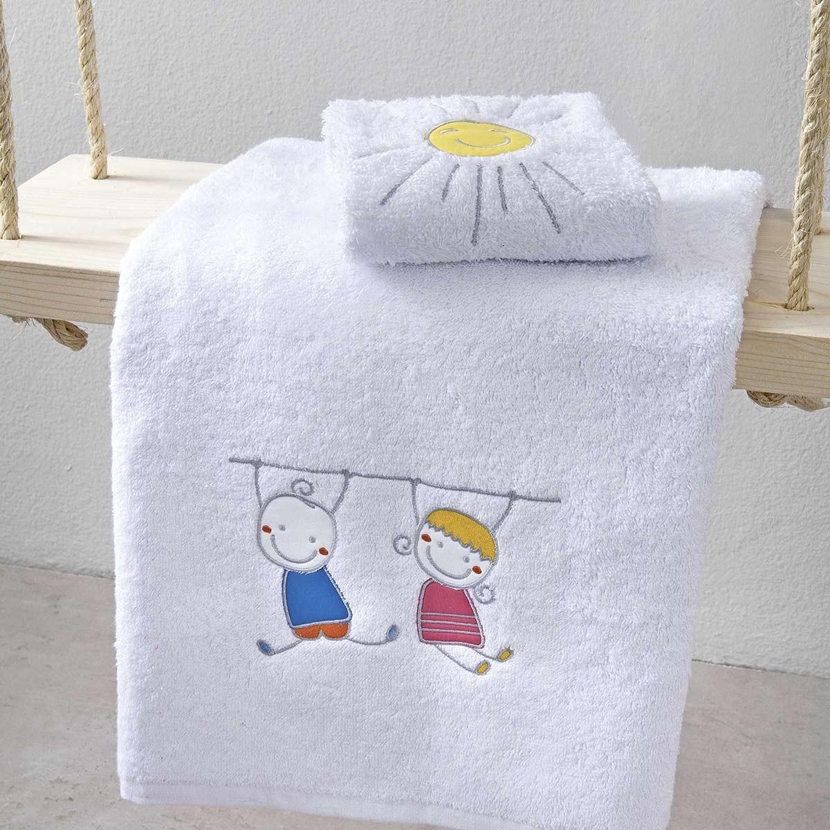 Παιδικές Πετσέτες (Σετ 2τμχ) Nima Kids Yippee