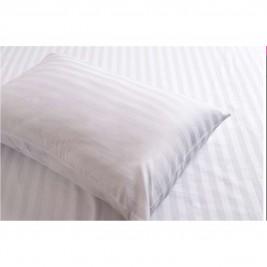 Σεντόνι Υπέρδιπλο Λευκό (240x270) Melinen Satin Stripe