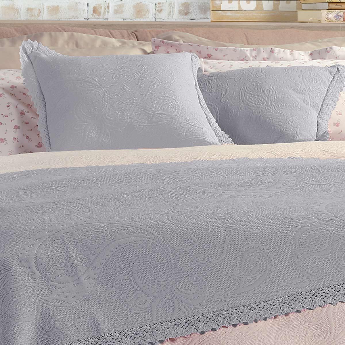 Διακοσμητικό Μαξιλάρι Nef-Nef Abigail Grey home   κρεβατοκάμαρα   διακοσμητικά μαξιλάρια