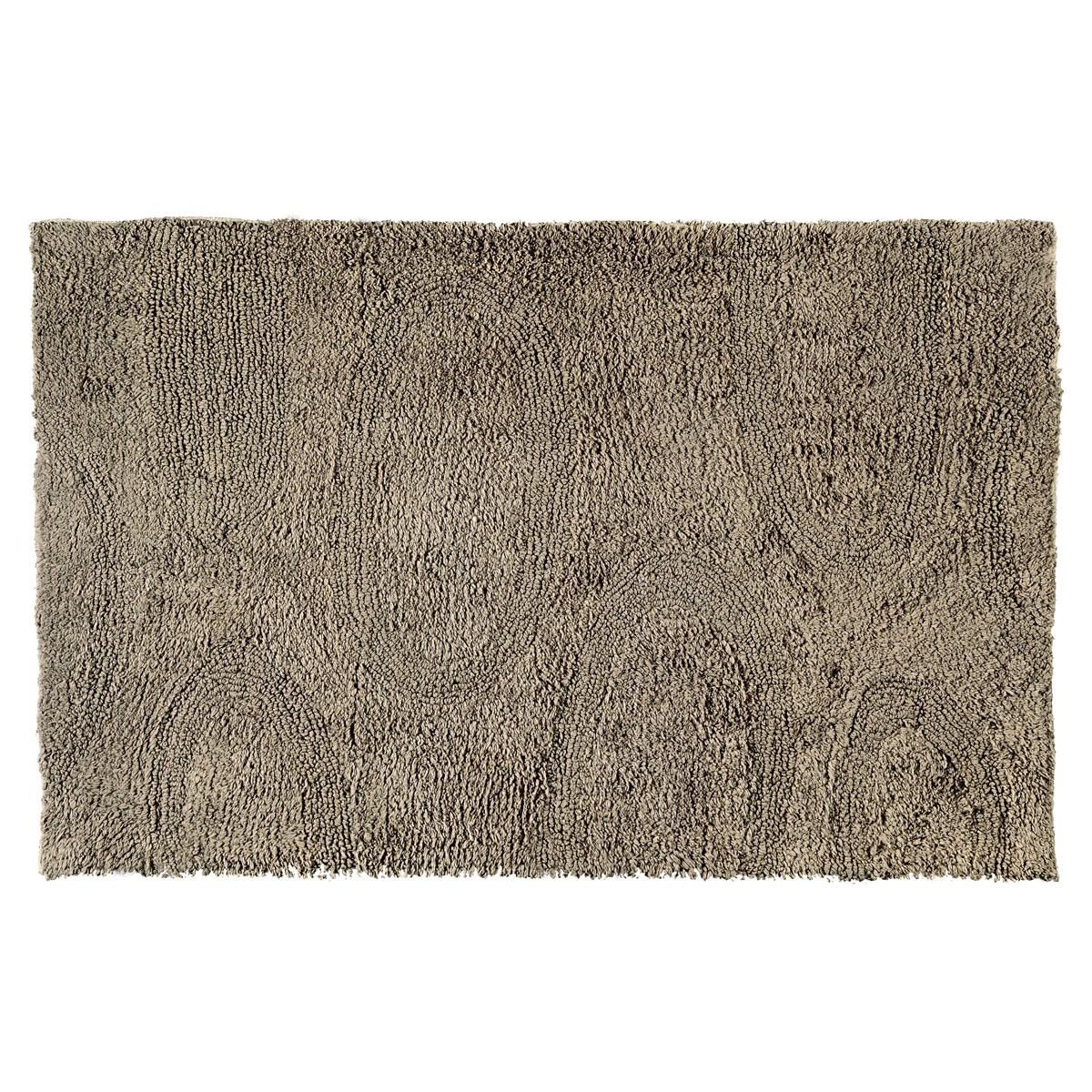 Πατάκι Μπάνιου (50×80) Nima Bathmats Ruffle Smoke Wood