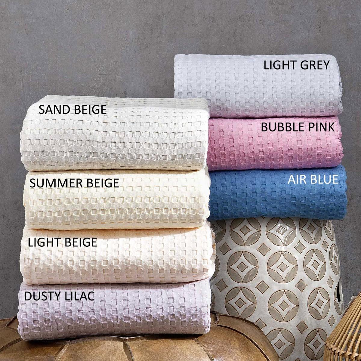 Κουβέρτα Πικέ Μονή Nima Layers Habit