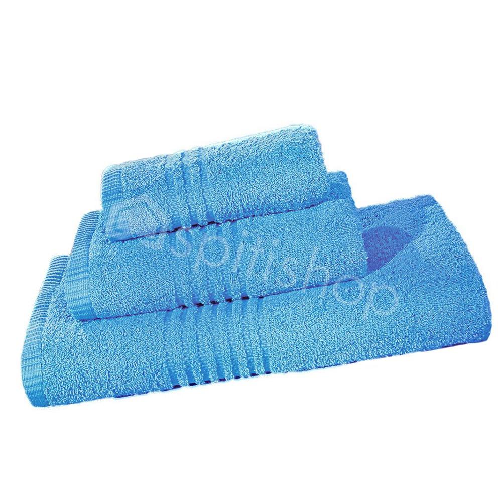Πετσέτες Μπάνιου (Σετ 3τμχ) Nima Towels Savoia Air Blue