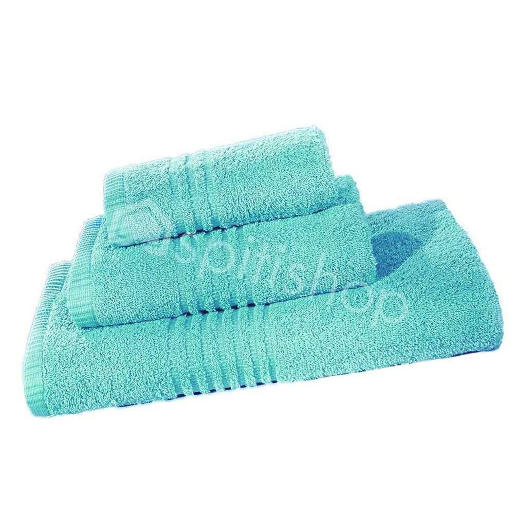Πετσέτες Μπάνιου (Σετ 3τμχ) Nima Towels Savoia Aqua Blue
