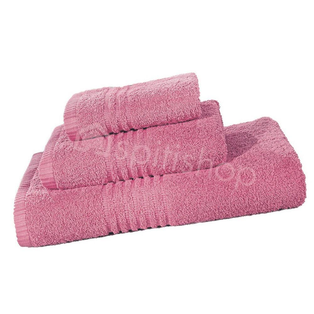 Πετσέτες Μπάνιου (Σετ 3τμχ) Nima Towels Savoia Candy Pink