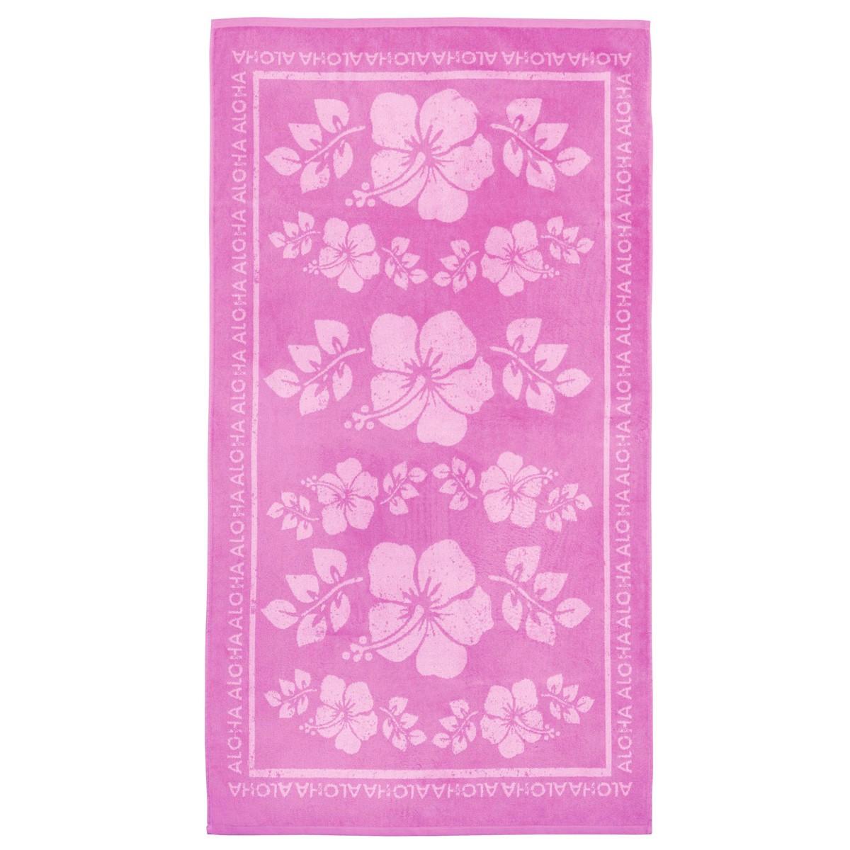Πετσέτα Θαλάσσης Nima Beach Towels Hawai Pink