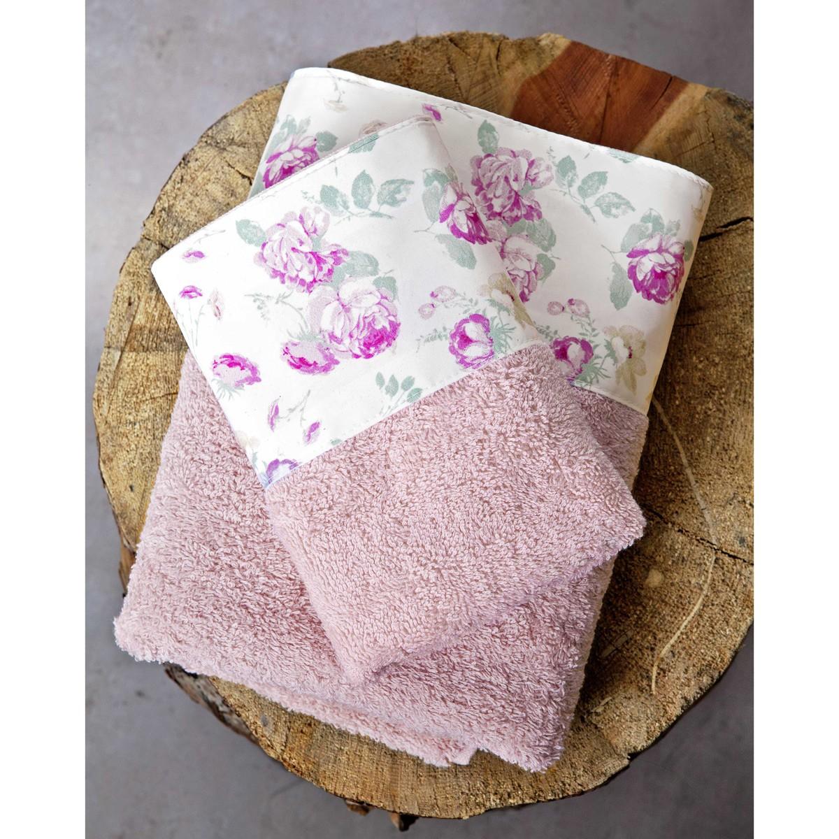 Πετσέτες Μπάνιου (Σετ 3τμχ) Nima Towels Blooming