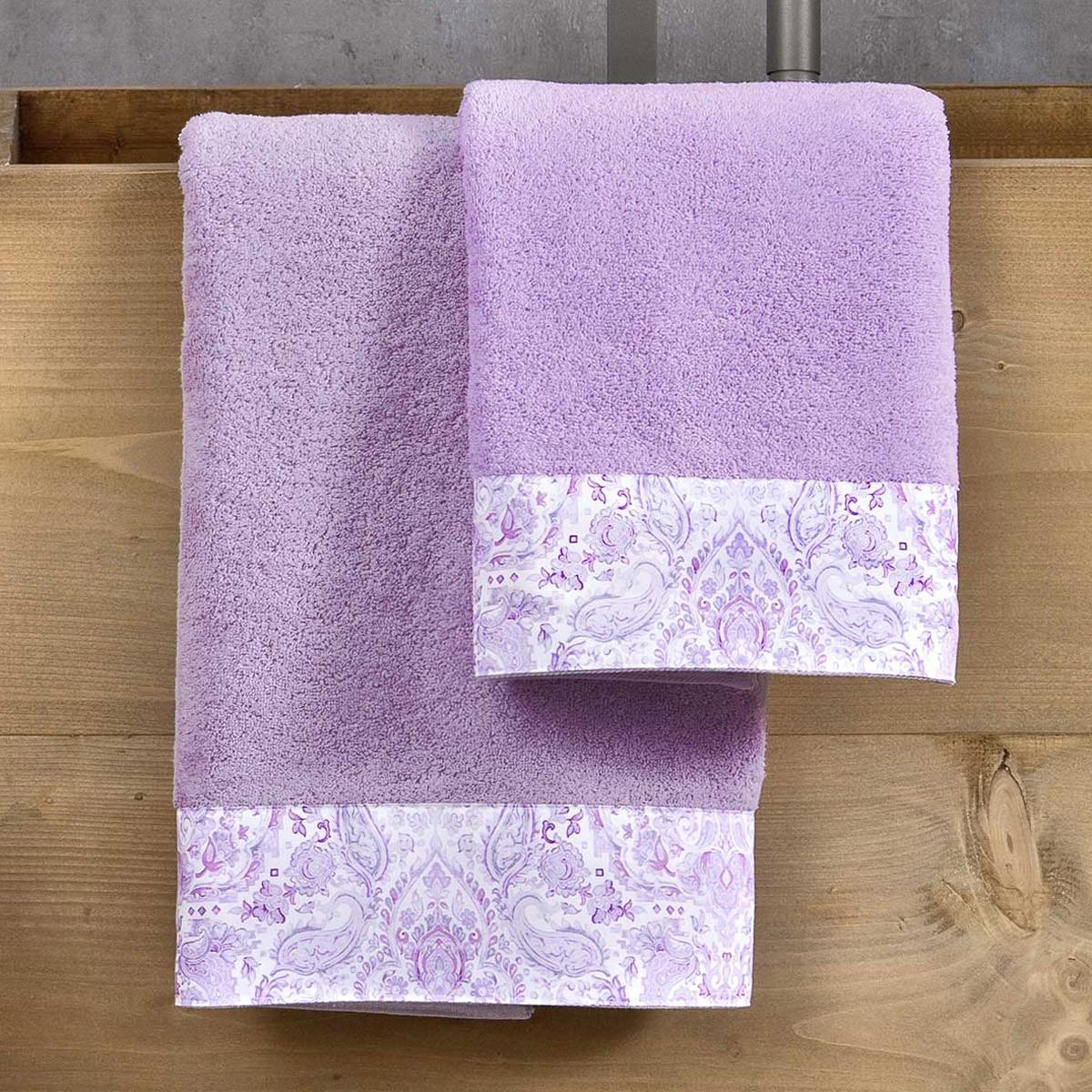 Πετσέτες Μπάνιου (Σετ 3τμχ) Nima Towels Ananta