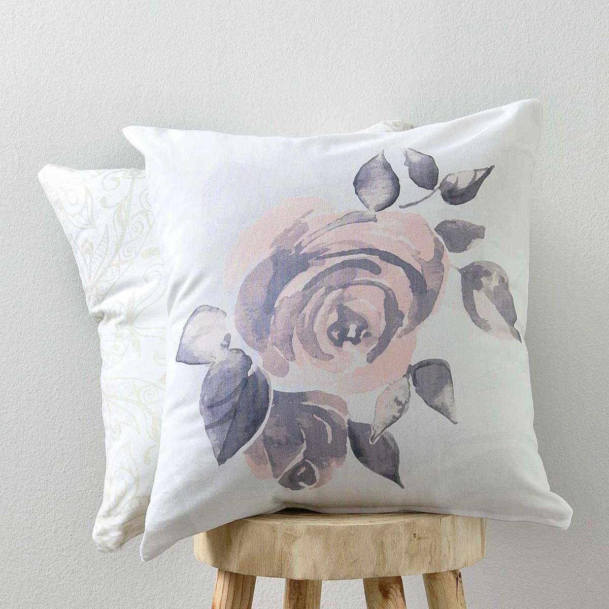 Διακοσμητική Μαξιλαροθήκη Nima Cushions Rosalie